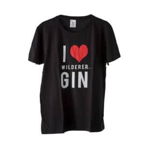 Wilderer I LOVE GIN Gholf T Shirt Black 1 1