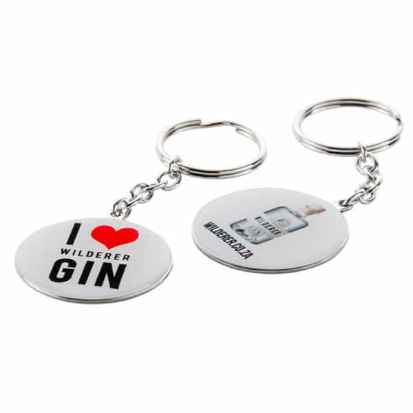 Wilderer I LOVE GIN Keychain