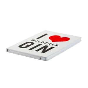 Wilderer I LOVE GIN Notebook 1